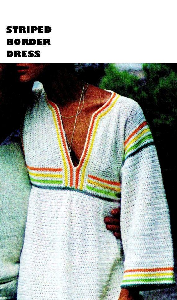Crochet Pattern, Crochet Dress Pattern, Crochet Dress PDF Pattern ...
