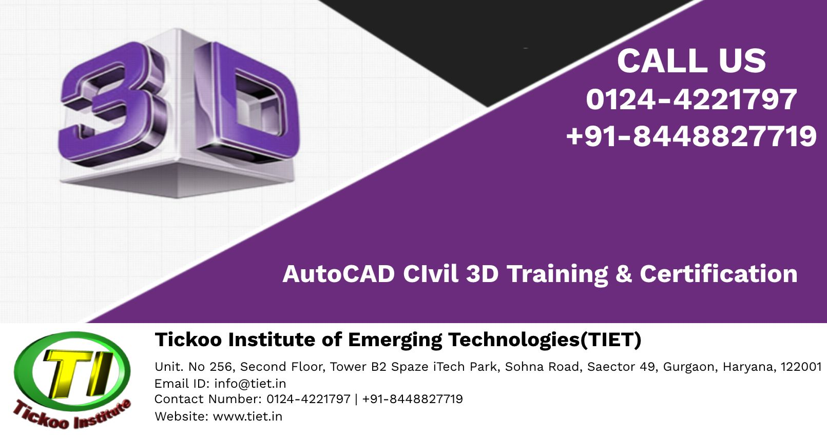 Learn Autocad Civil 3d Training By Professionals Learn Autocad Autocad Civil Emerging Technology