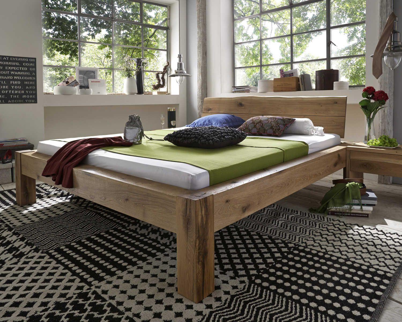 VICTORIA Holzbett Massivholzbett Doppelbett Bett Massiv - Kernbuche ...