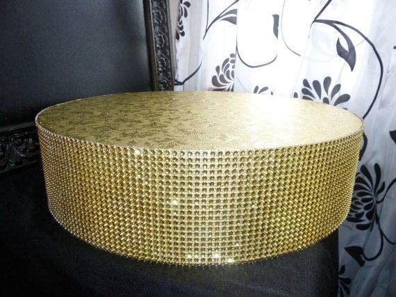 Gold Cake Stand 12 Quot 14 Quot Or 16 Quot Round Or Square Faux