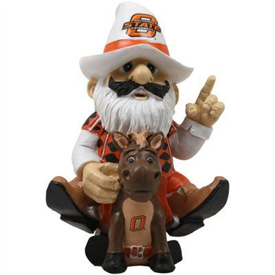 Oklahoma State Cowboys Thematic Gnome Ii