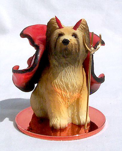 SAMOYED Dog ANGEL Tiny One Ornament Figurine Statue