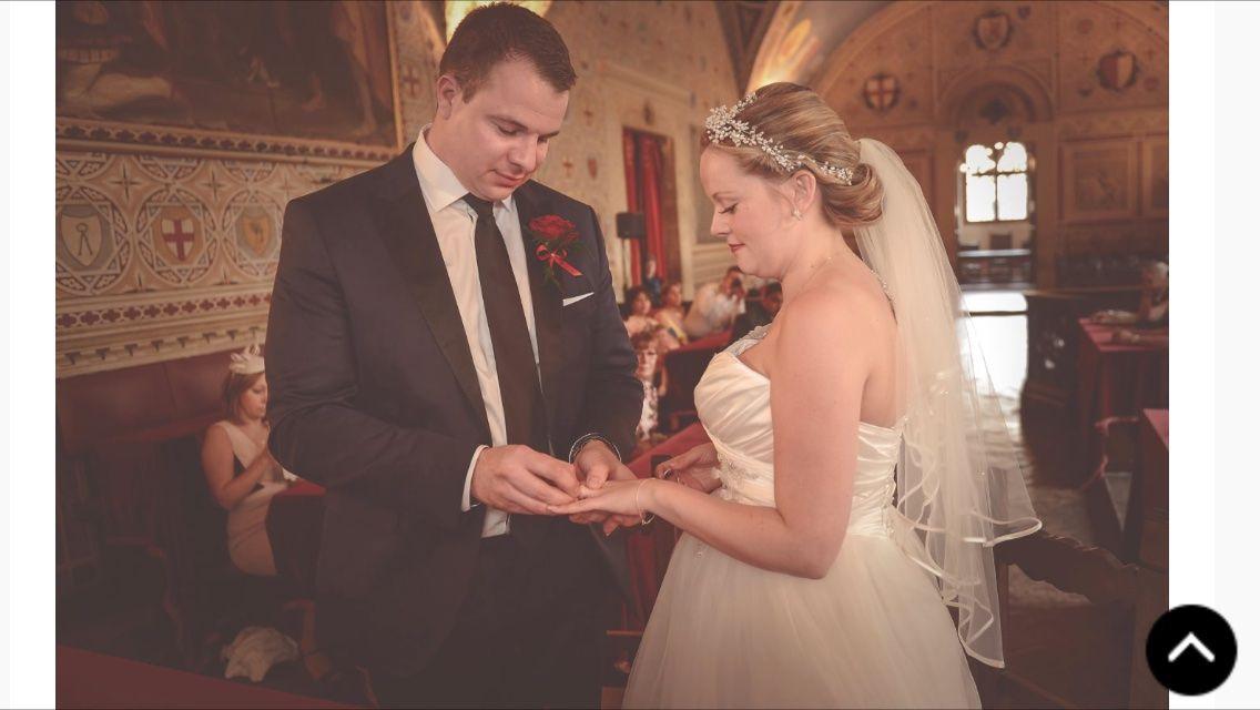 Civil ceremony at the Palazzo dei Priori