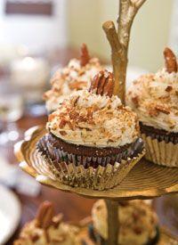 Caramel Surprise Chocolate Cupcakes