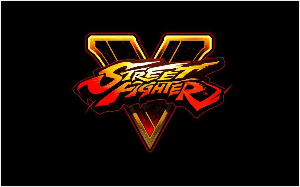 Street Fighter V Game Logo Wallpaper Street Fighter V Game Logo