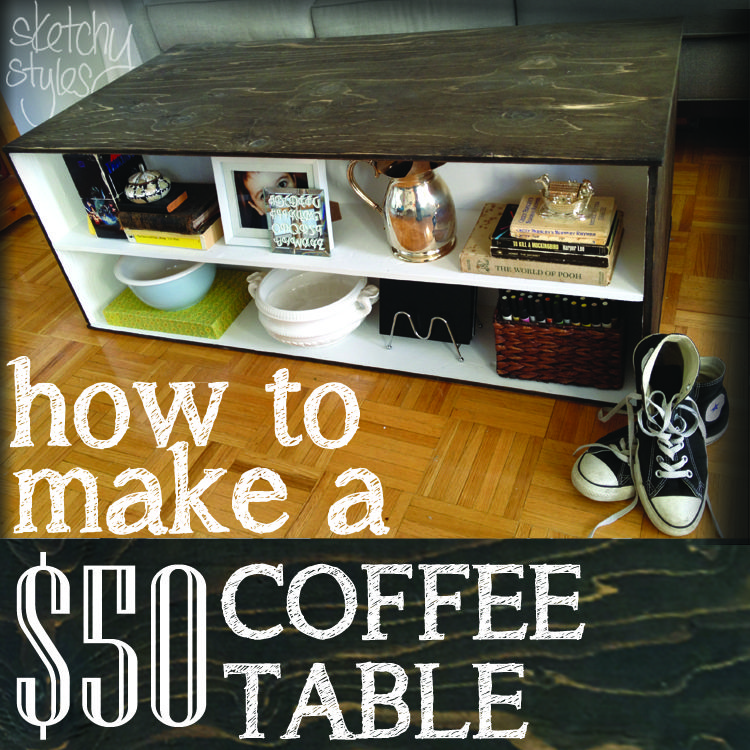 // <![CDATA[ // // \You know what's awesome about a big ass coffee table? A big ass coffee table gives you room to spread out projects. A big ass coffee table is great for hosting games night. A...