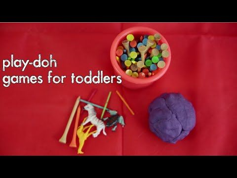Play Experiences For Toddlers - Play-Doh - LifeStyleVideos