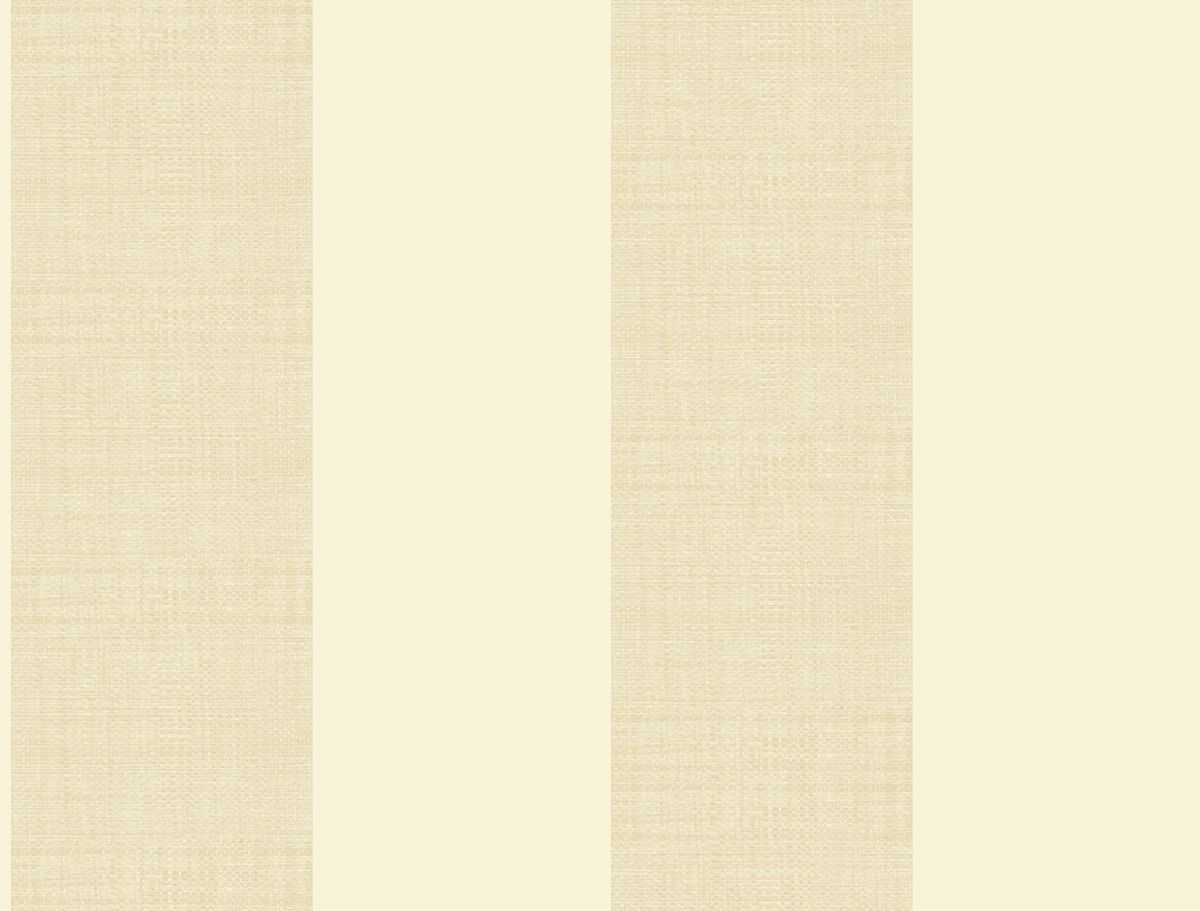 York At7082 Tropics Grasscloth Stripe Wallpaper Cream Beige