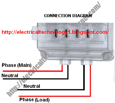 b94ee05c763f9846b210aec15a09ae71 how to wire single phase kwh meter ( digital or analog energy single phase kwh meter wiring diagram at highcare.asia