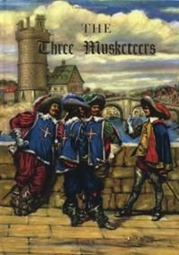The Three Musketeers art | The Three Musketeers (Illustrated Junior Library) (Hardcover ...