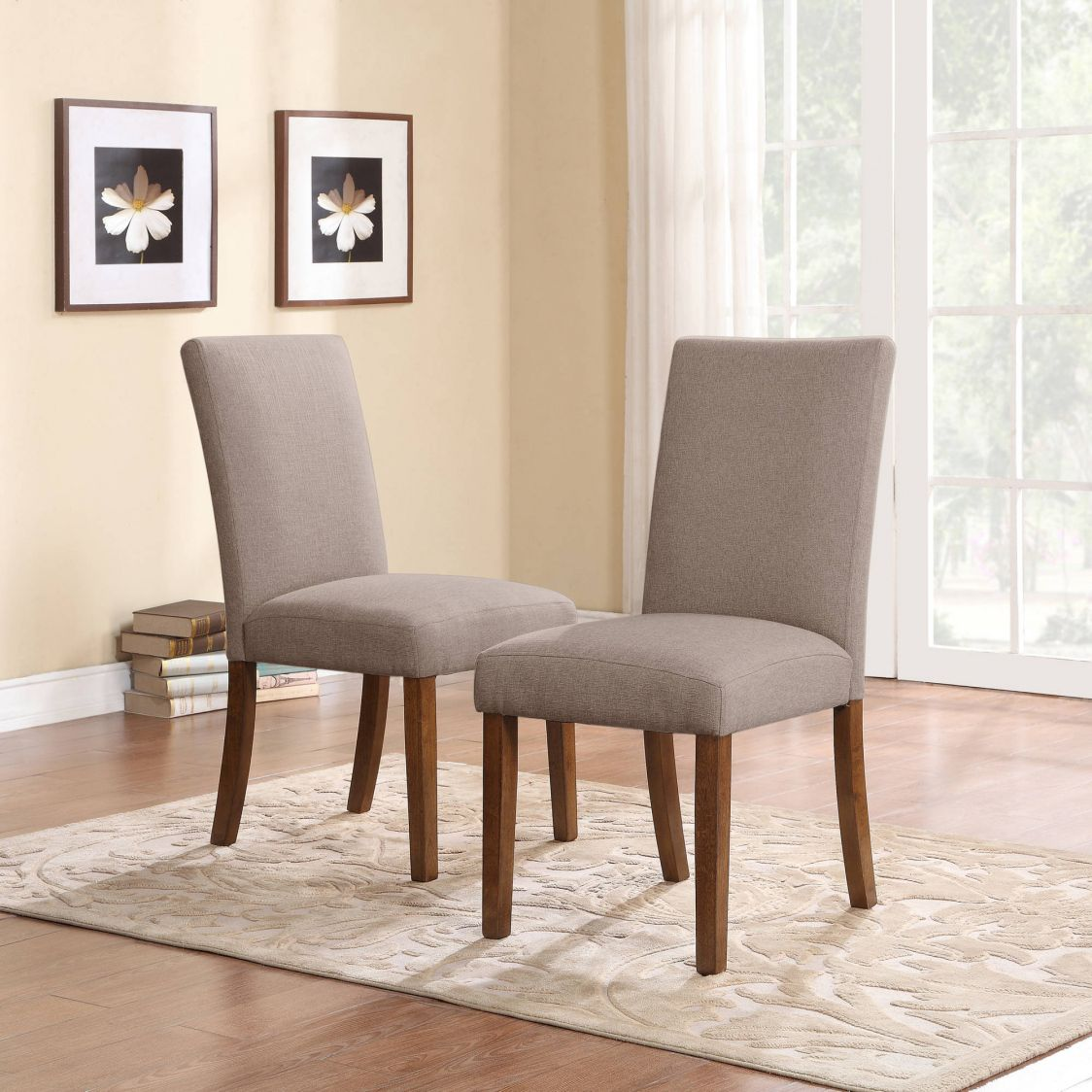 Upholstered Parsons Dining Room Chairs  Cool Modern Furniture Custom Upholstered Dining Room Chairs Decorating Design
