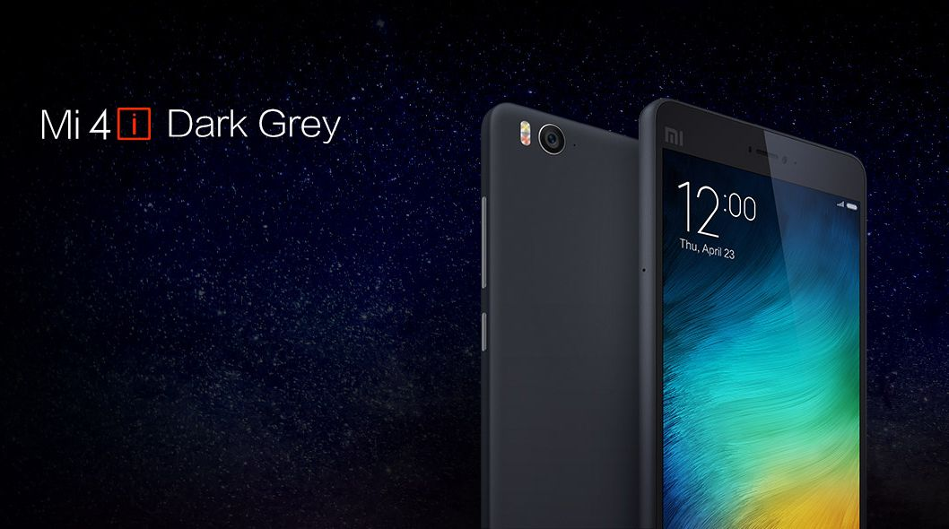 Xiaomi Mi 4i Dark Grey Variant Registration Open In India