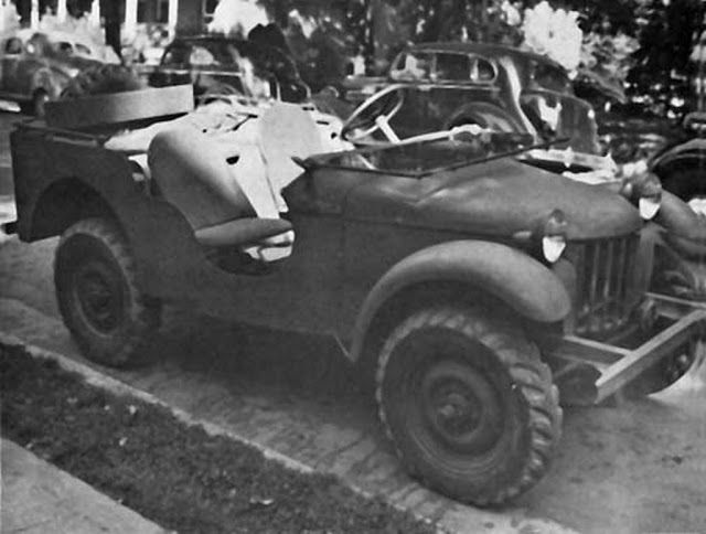 September 30 1940 Operation Lena Willys Mb Vehicules Militaires
