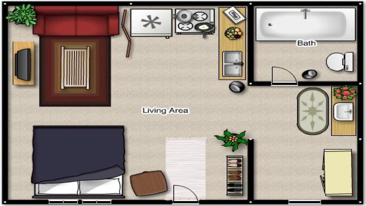 Efficiency Apartment Floor Plan Ideas Studio Plans ...