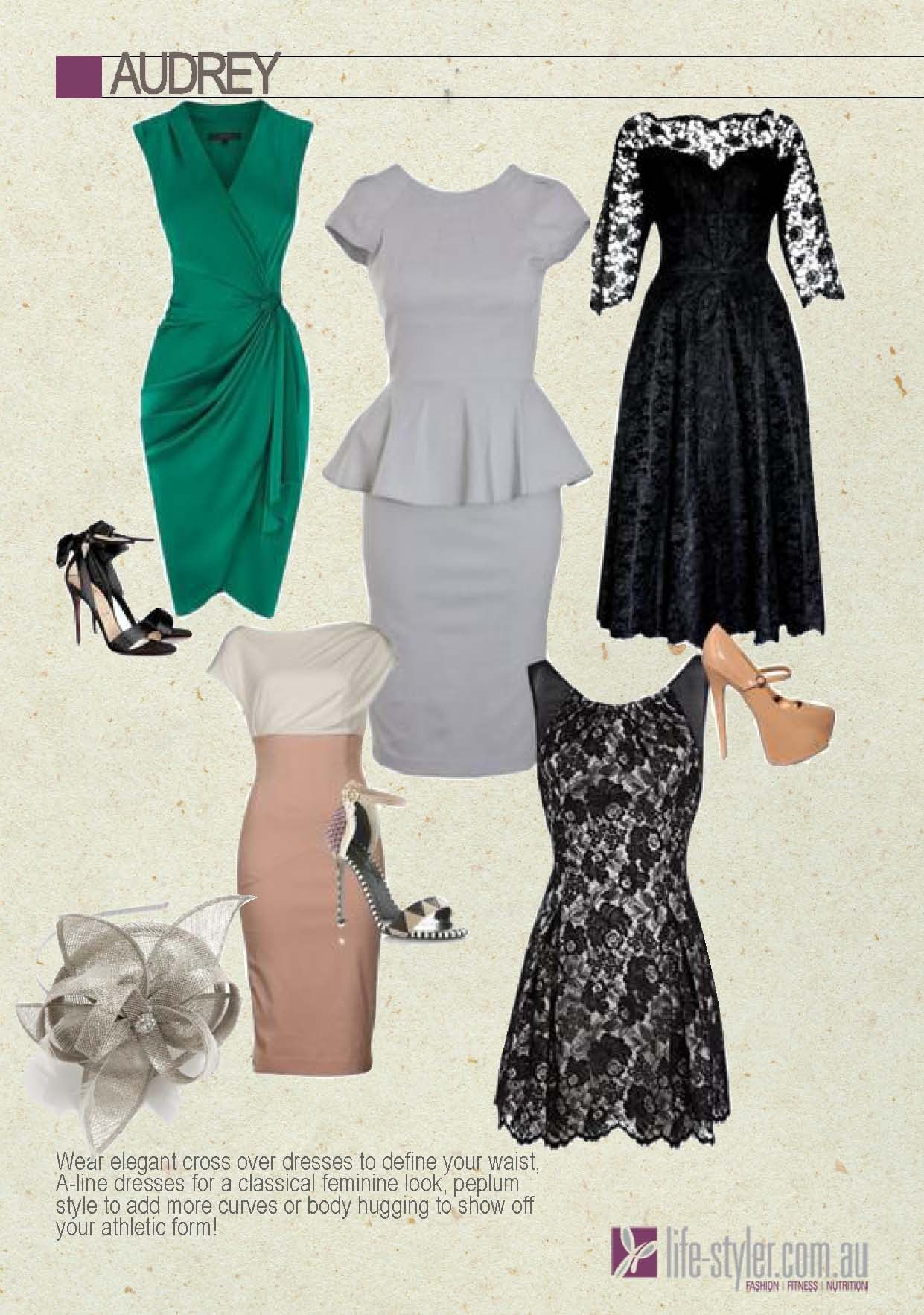 What style dress will suit my shape