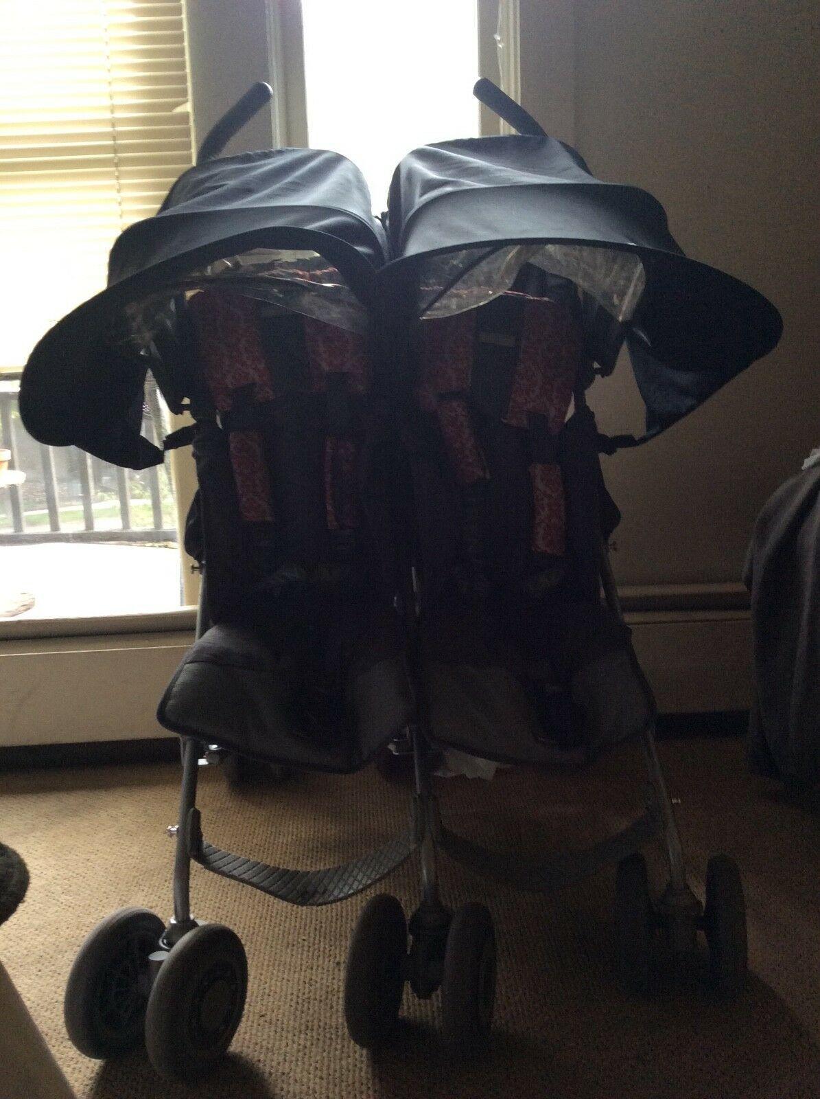 Maclaren Twin Lightweight Umbrella Fold Double Stroller