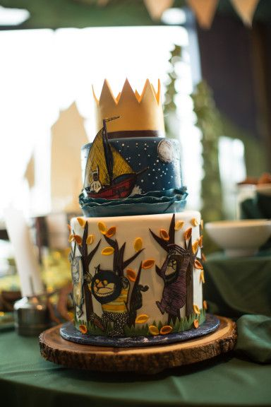 Where The Wild Things Are Party Cake Custom Birthday By Baked West Seattle Wa