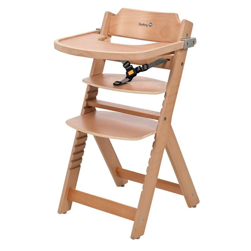 La Chaise Haute Totem De Safety 1st Confortable Et Evolutive Wooden High Chairs Baby High Chair High Chair