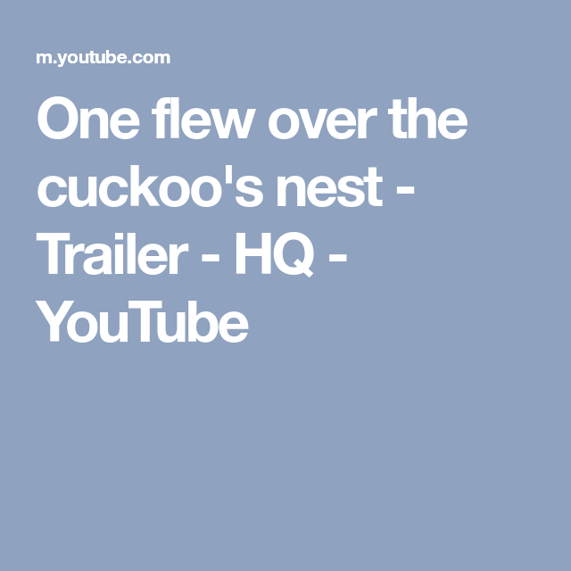 why was the novel one flew over the cuckoos nest banned One flew over the cuckoo's nest is a 1975 film starring jack nicholson, written by lawrence hauben and bo goldman and directed by miloš forman it is based.