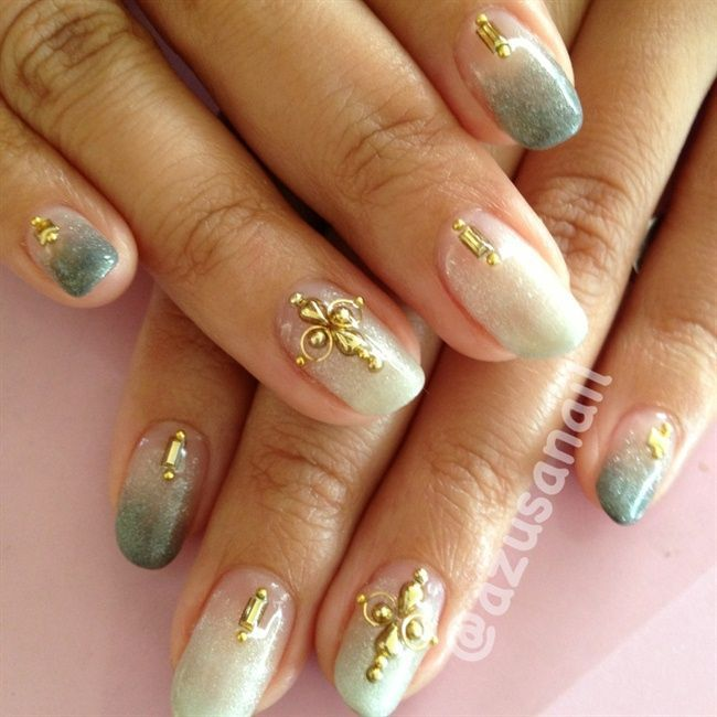 Nice Art Nails Japanese Nail Art Pinterest Art Nails Jewel