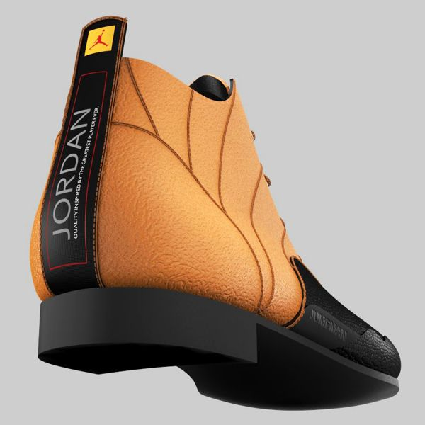 casual #shoe #design #inspired by #Jordan #12 #Taxi #retro by ...