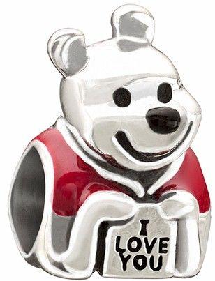 $45.00 Chamilia Disney-Love, Winnie The Pooh bead