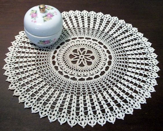 40 Pretty And Easy Crochet Doily For Beginners Easy Crochet