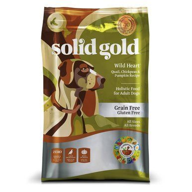 Solid Gold Grain Free Wild Heart Holistic Highly Palatable Dry Dog
