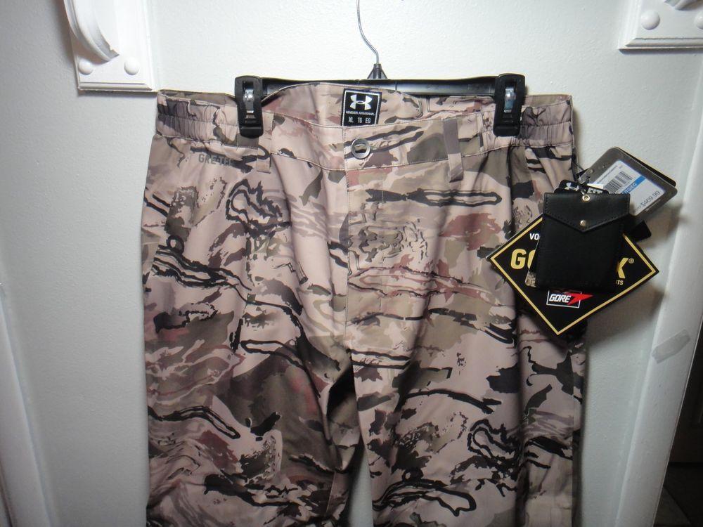 423547d612b0b Under Armour Ridge Reaper Camo Barren Gore-tex Pants Compression Loose Fit  XL #Underarmour