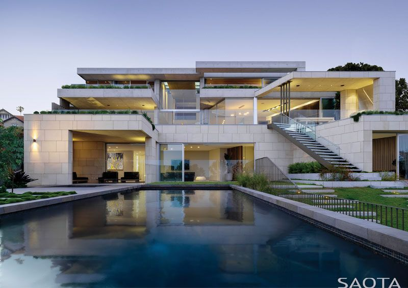 Saota And Tkd Architects Have Designed A Home In Sydney With Views Of The Harbour Architecture Contemporaine Maison Style Et Maisons Contemporaines