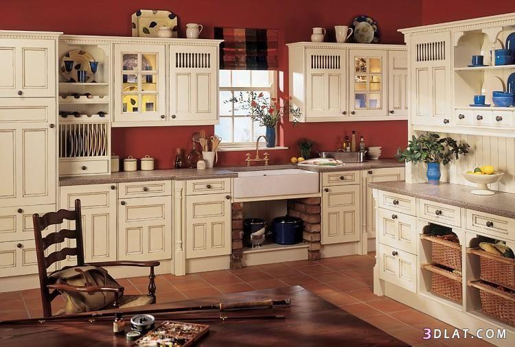 ديكور مطابخ عصرية صور صباح الخير Home Kitchen Cabinets Home Decor