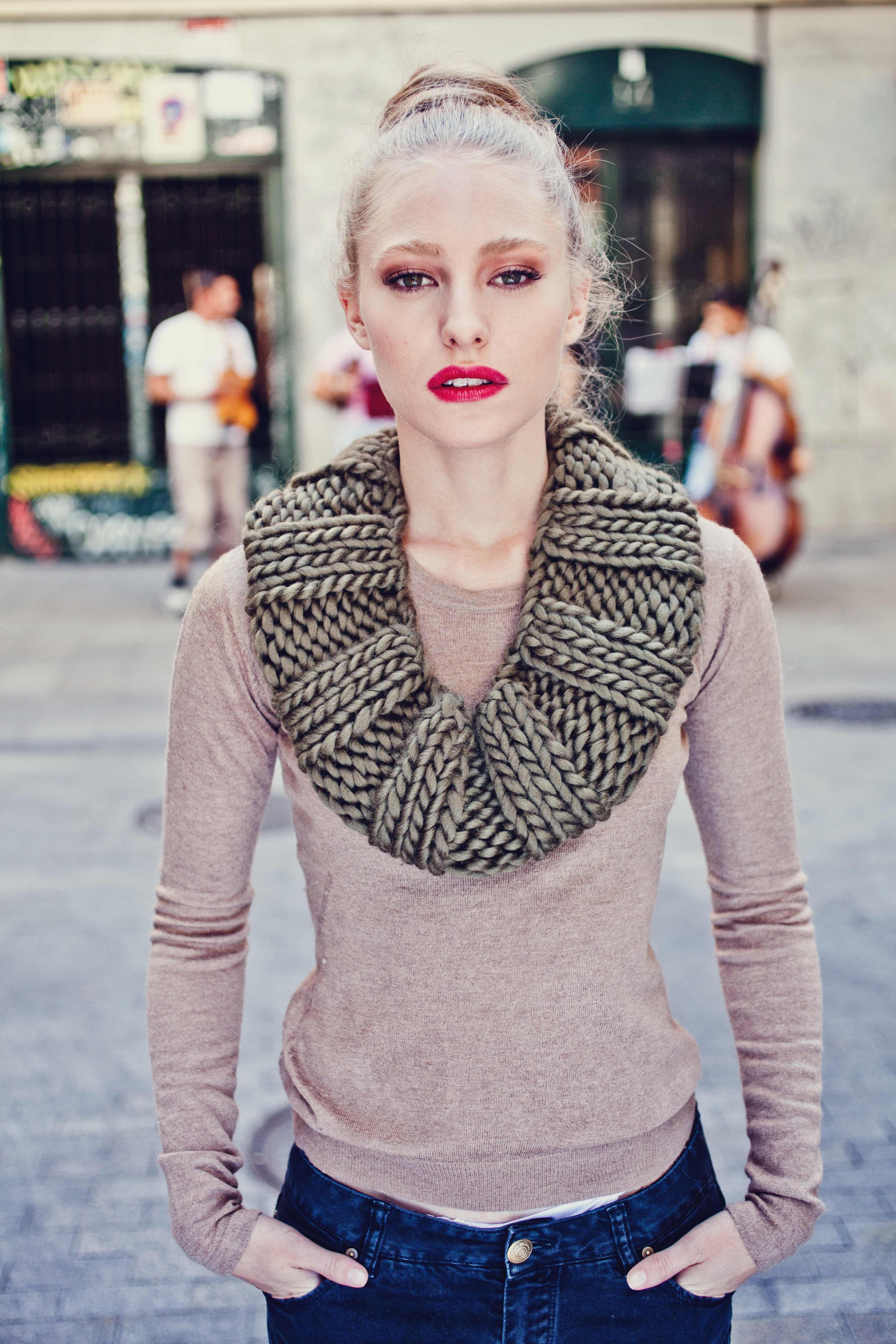 Empire Snood By We Are Knitters We Are Knitters Pinterest