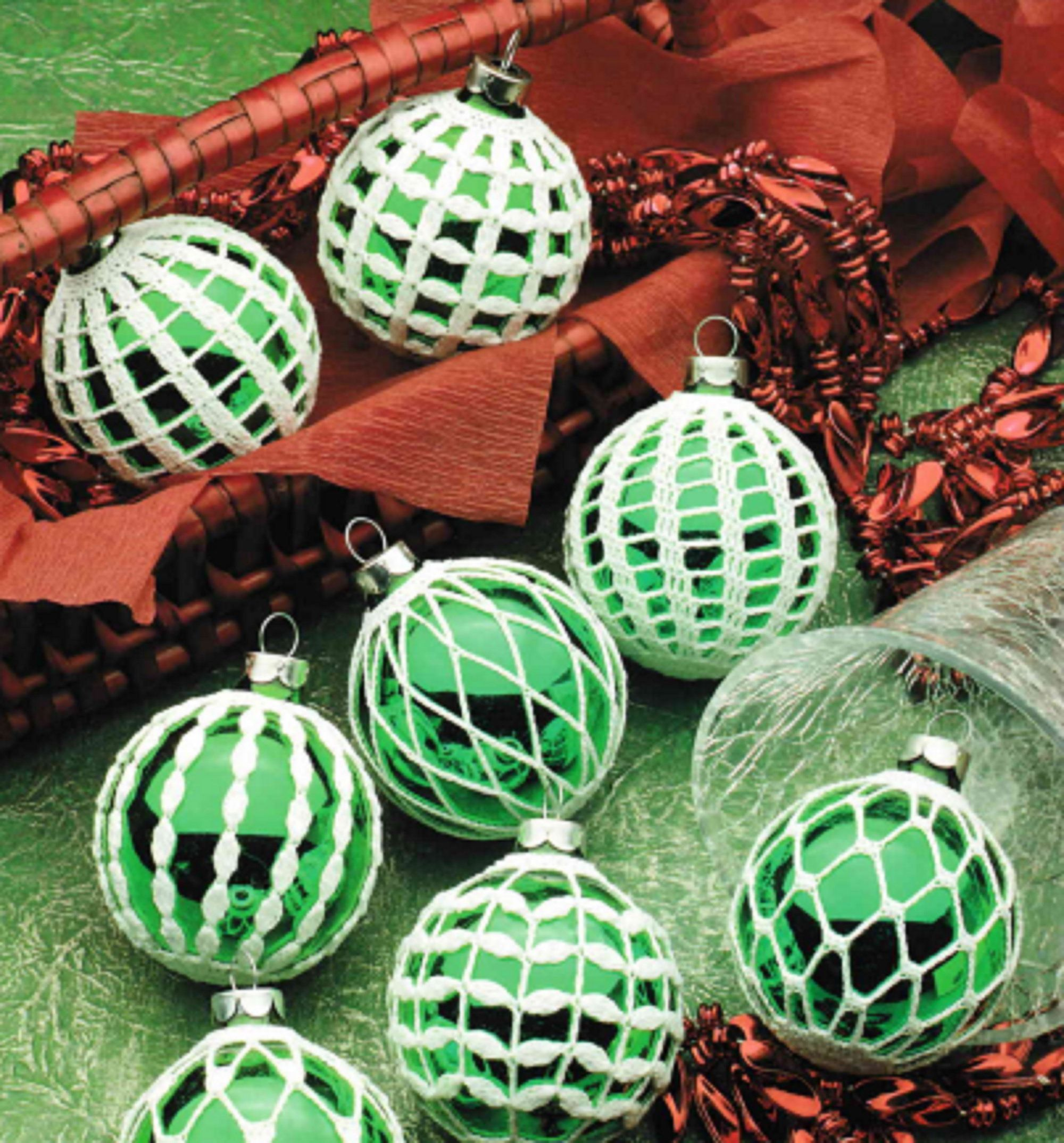 Thread Crochet Pattern Pdf Instant Download Christmas Balls Etsy In 2021 Tree Decor Crochet Patterns Crochet Christmas Ornaments