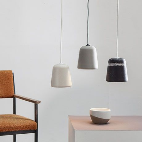 Pendant Lamp - Light Concrete - alt_image_three