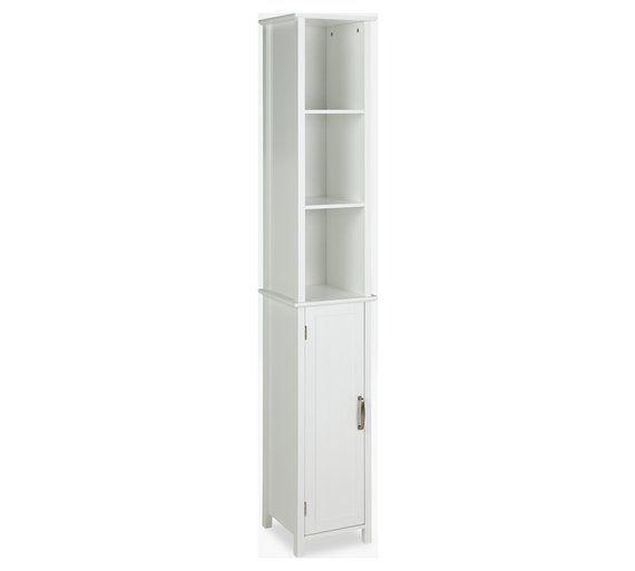 Buy Argos Home Tall Bathroom Storage Unit White Bathroom Shelves And Storage Units Argos Bathroom Shelves Decor In 2019 Bathroom Storage Units Bathr