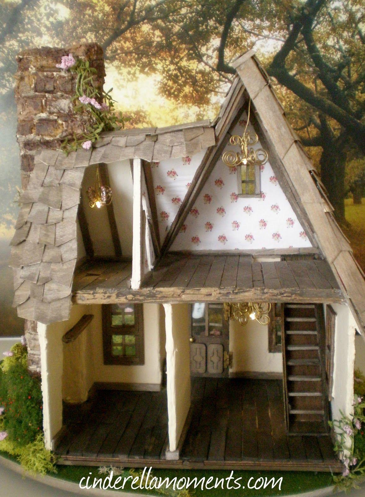 cinderella moments miss read 39 s english cottage cinderellamoments custom dollhouses. Black Bedroom Furniture Sets. Home Design Ideas