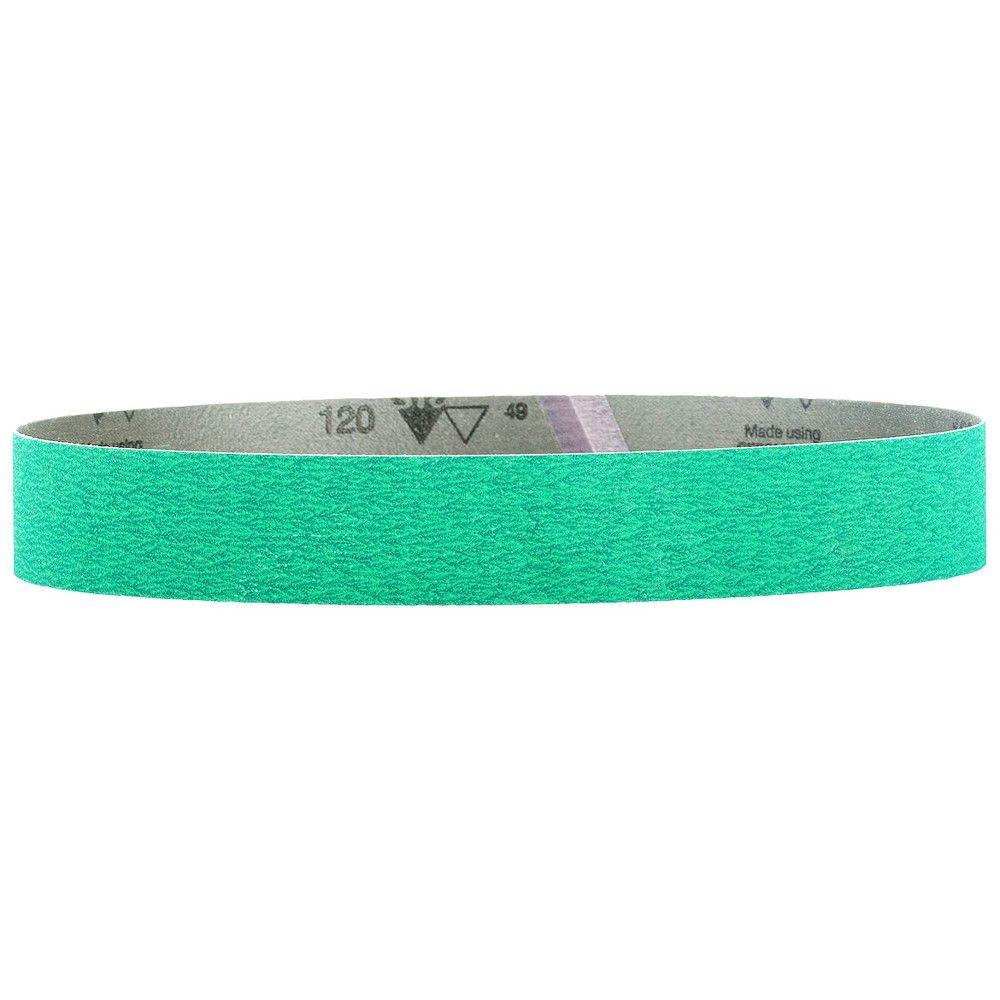 Metabo 626310000 1 1 2 X 30 Inch P120 Ceramic Grain Sanding Belt 10pk Belt Sanding