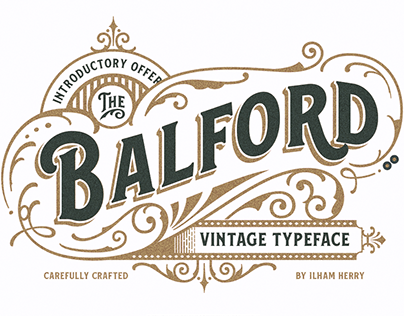 "Check out new work on my @Behance portfolio: ""Balford Font And Ornament"" http://be.net/gallery/55133631/Balford-Font-And-Ornament"