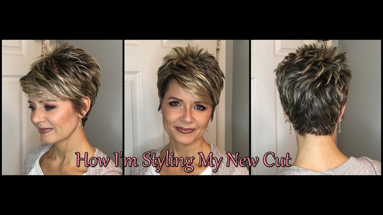 Hair Tutorial with my New Cut  Swept Bangs u Smooth Back  YouTube