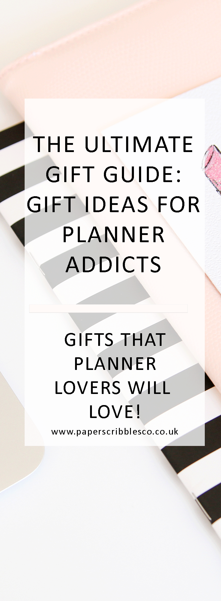 the ultimate gift guide gift ideas for planner addicts planning