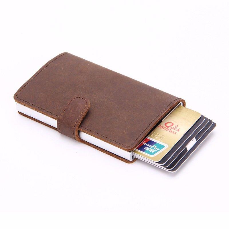 best authentic 5a69f 72013 geniune leather Secrid Men Slim Wallet Genuine Leather Vintage RFID ...