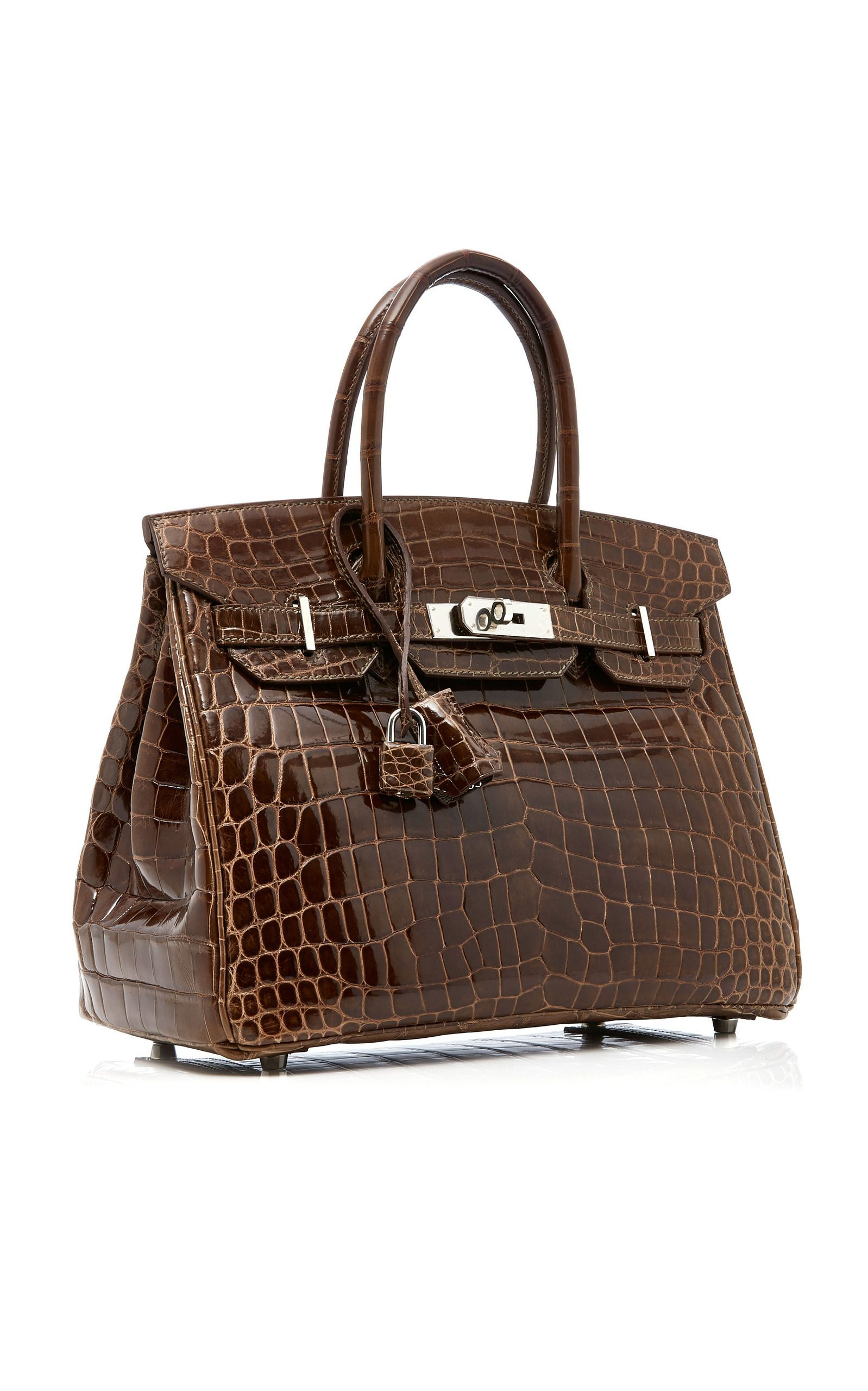 2afee0e3ce Heritage Auctions Special Collections Hermes 30cm Gris Elephant Shiny Nilo  Crocodile Birkin