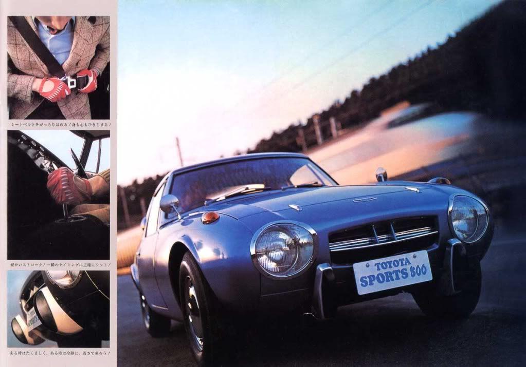 1966 Toyota Sports 800 Toyota Toyota Hybrid Toyota Cars
