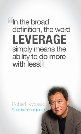In the broad definition, the word leverage simple means the - define business investment