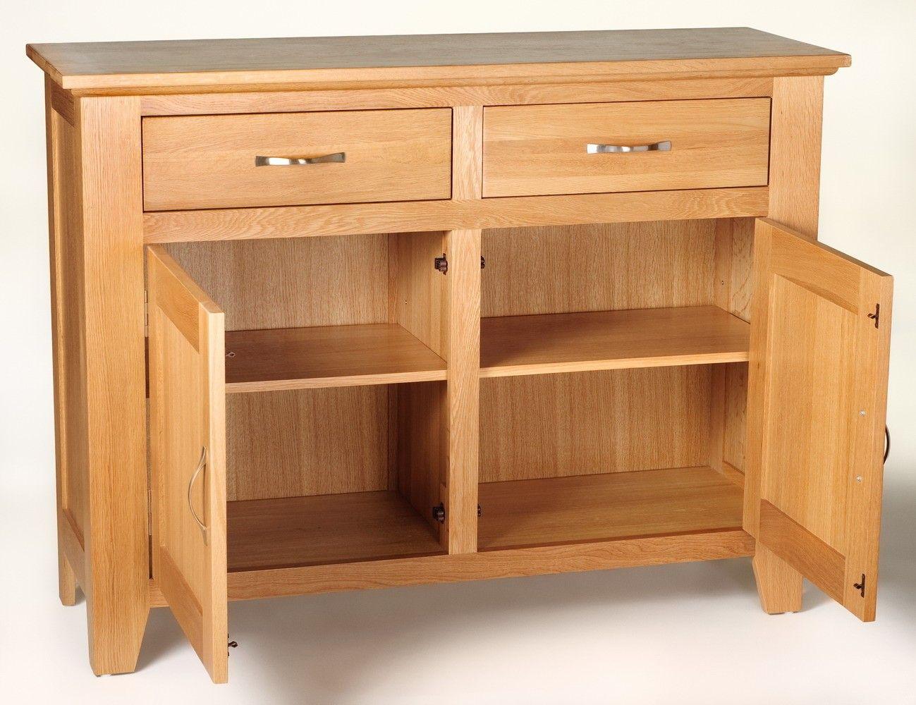 Camberley Oak 2 Door 2 Drawer Sideboard Oak Sideboard Solid Oak Sideboard Oak Furniture