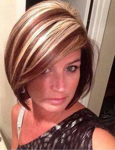 20 Short Haircuts With Highlights Pinterest Corte de pelo