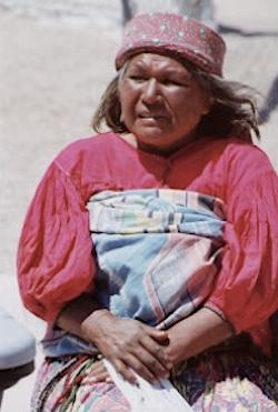 Tarahumara woman from northern Mexico