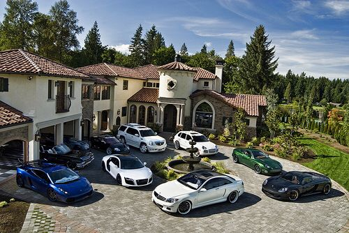 Big House Dream House Mansions Luxury Life House Styles