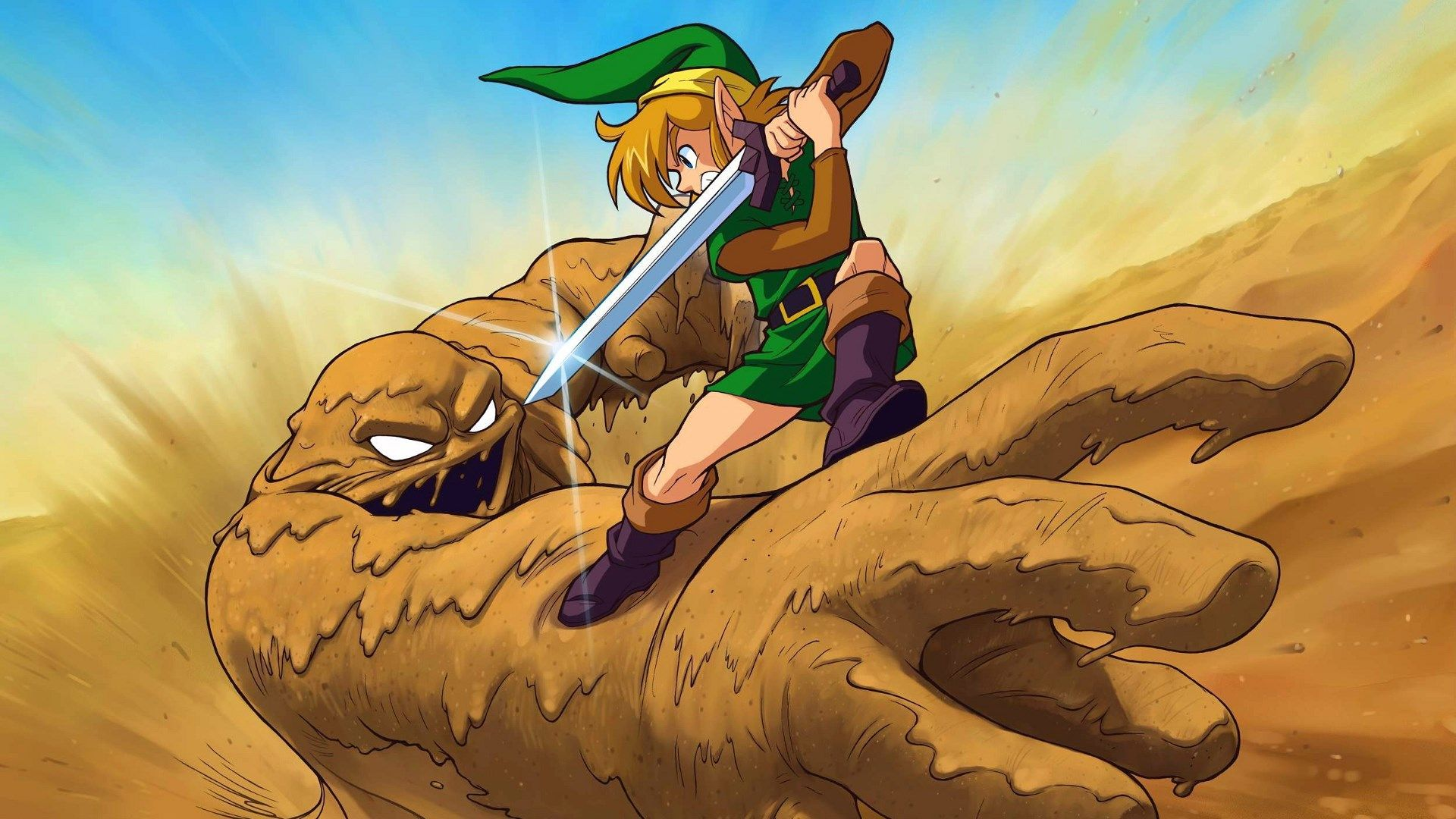 Free Wallpaper And Screensavers For The Legend Of Zelda A Link To