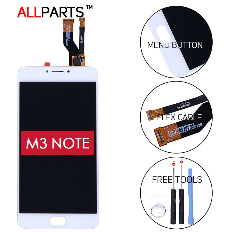 27.56$  Watch here - http://aimsp.worlditems.win/all/product.php?id=32728869463 - 100% original Tested 5.5 INCH 1920x1080 Display For MEIZU M3 Note / Meilan Note 3 LCD Touch Screen Digitizer M681H